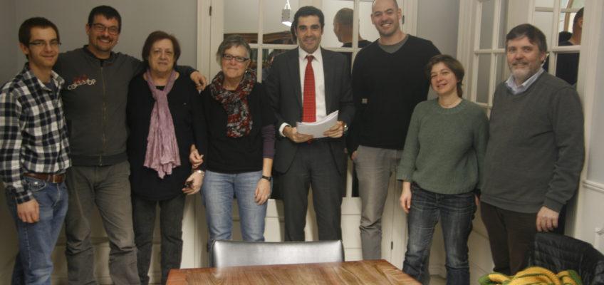 La Borda avança en el seu finançament amb la signatura del conveni amb el Coop57
