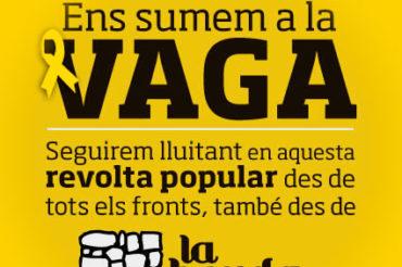 ¡Contra la impunidad del estado español, huelga general el 8 de noviembre!