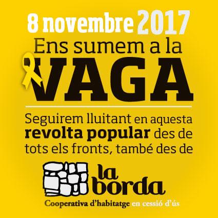Contra la impunitat de l'estat espanyol, vaga general el 8 de novembre!