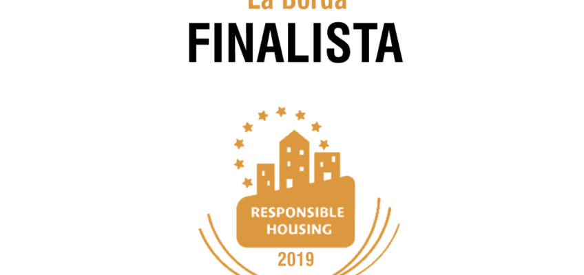La Borda premiada als European Responsible Housing Awards 2019