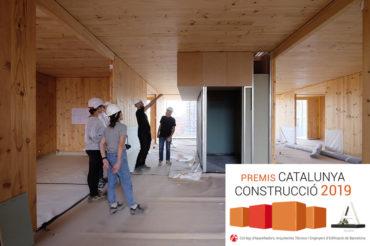 Premi Catalunya Construcció 2019 per la direcció d'obra de La Borda