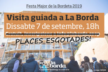 Visita guiada per la Festa Major de la Bordeta